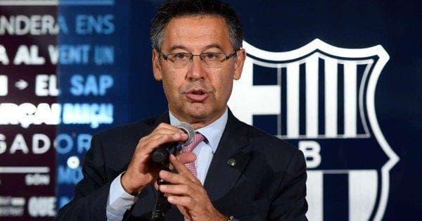 Sorpresiva respuesta de Bartomeu sobre el eventual fichaje de De Ligt — Barcelona