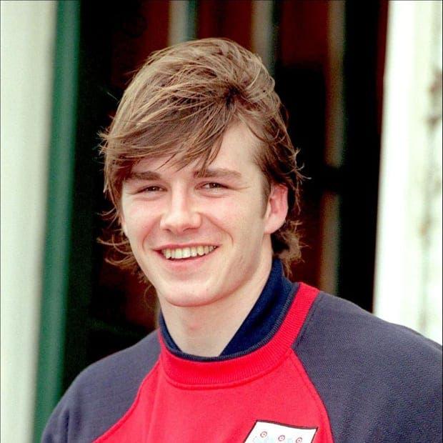David Beckham debutó en la Capital One Cup cuando tenía 18 años. Foto: Agencias.