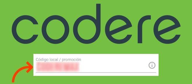Ingresa aquí tu codigo promocion Codere