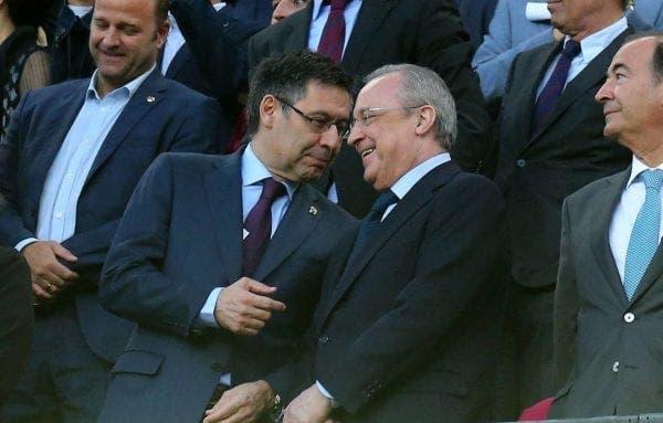 Josep María Bartomeu y Florentino Pérez