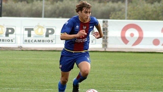 Iván López estuvo cedido en el Girona