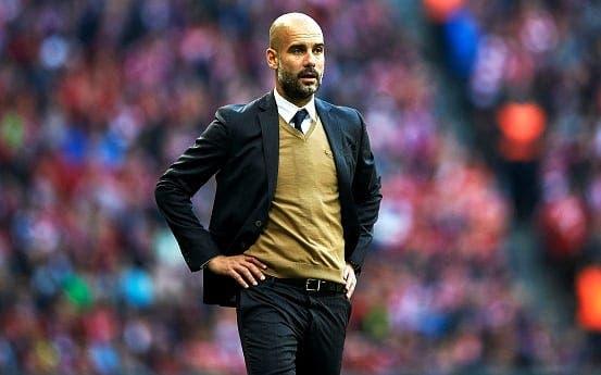 Pep Guardiola en un partido en el Allianz Arena / Agencias