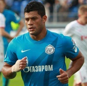 Hulk con la camiseta del Zenit