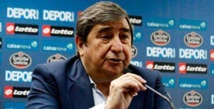 El Deportivo de la Coruña se planta en una única solución definitiva