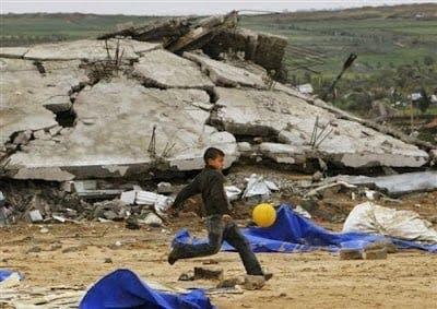 mejenga en Franja de Gaza