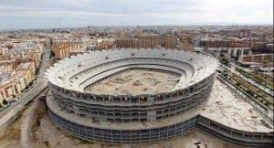 El nuevo Mestalla es una losa económica para el Valencia CF.