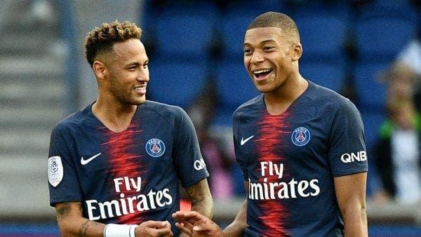 Mbappé y Neymar se enfundan la nueva piel del PSG