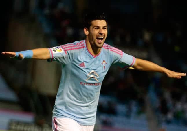 Nolito celebrando un gol / Agencias