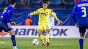 Betis incordio del Villarreal CF por relevo de Pau Torres