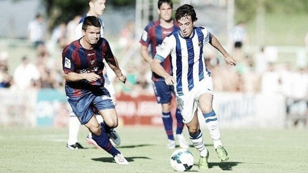 Pardo lideró junto a Granero a la Real Sociedad frente a la SD Eibar.