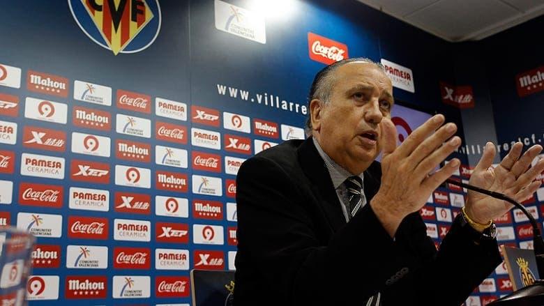 El presidente del Villarreal CF en rueda de prensa