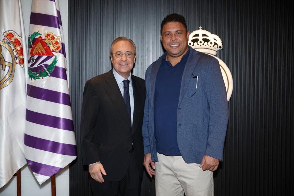 Ronaldo Nazário y Florentino Pérez