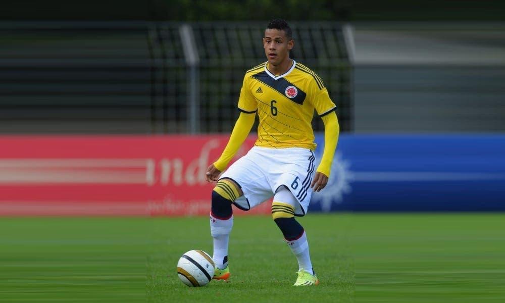 Tello ya debuto con la Sub-20 de Colombia. Agencia