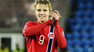 Odegaard nuevo jugador del Real Madrid.