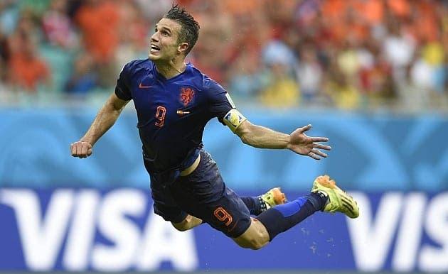 Van Persie marcó el gol más bello del Mundial.
