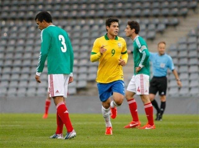 Vinicius con la selección de Brasil sub 20