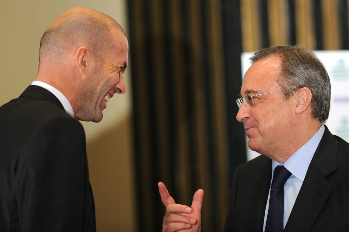 Florentino Pérez y Zidane / Agencias